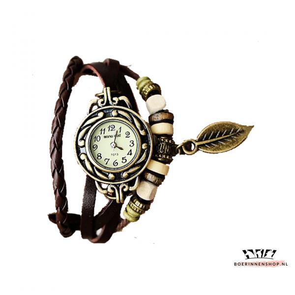 horloge met veer